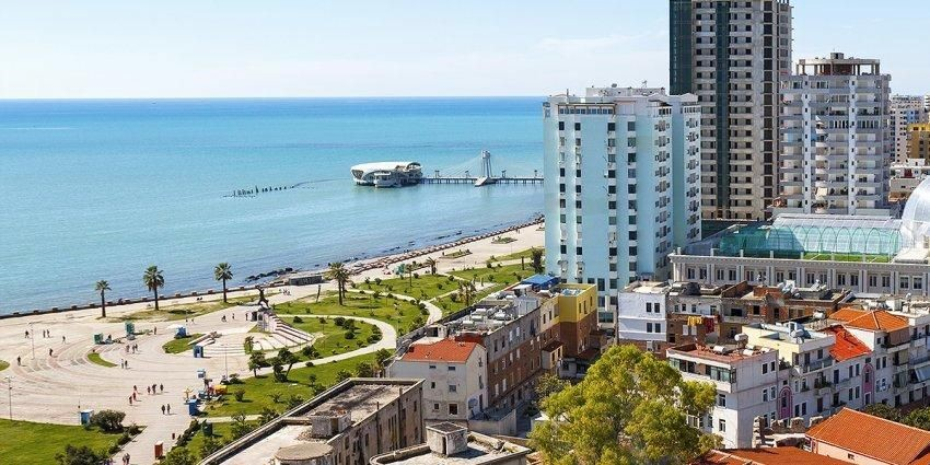 view of durres seaside